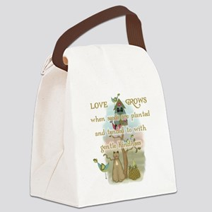 LOVEGROWSGARDENING Canvas Lunch Bag