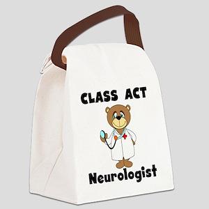CLASSACTNEUROLOGIST Canvas Lunch Bag