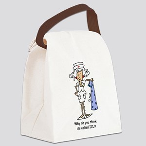 JDNURSEFIVE Canvas Lunch Bag