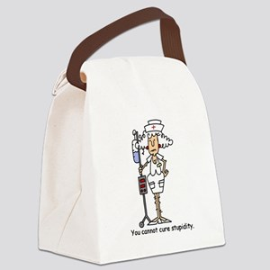 jdnursesix Canvas Lunch Bag