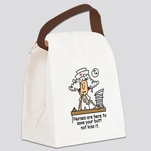 jdnurseseven Canvas Lunch Bag
