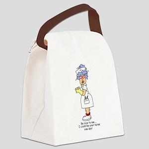 glnursethree Canvas Lunch Bag