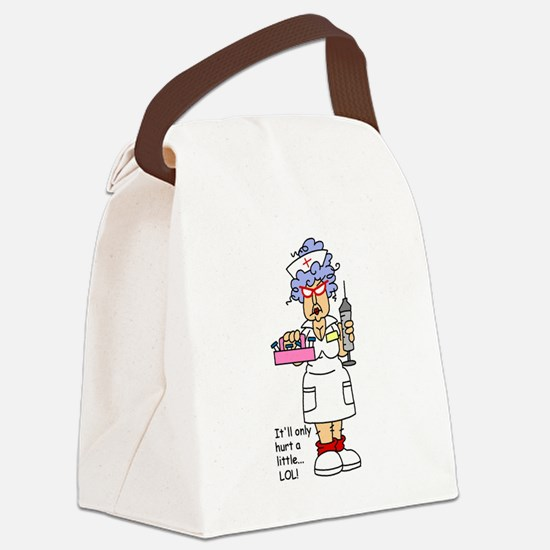 GLNURSETWO.png Canvas Lunch Bag