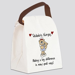 pediatricnursTEE Canvas Lunch Bag