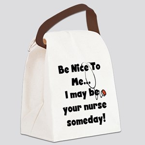 BENICENURSETEE Canvas Lunch Bag