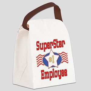 SUPERSTARemployee Canvas Lunch Bag