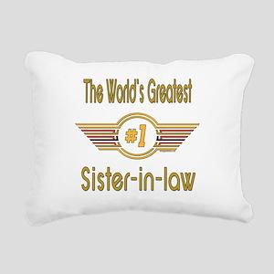 GREENsisterinlaw Rectangular Canvas Pillow