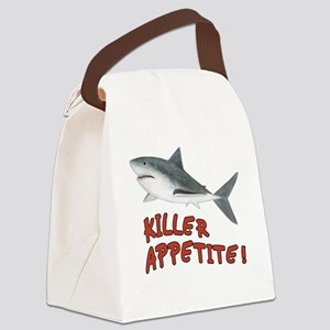 Shark - Killer Appetite Canvas Lunch Bag