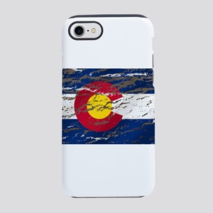 Colorado Vintage Flag iPhone 7 Tough Case