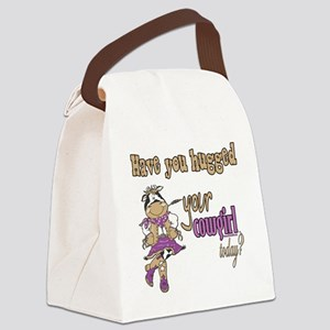 Cowshaveuhugged copy Canvas Lunch Bag