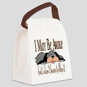 New imaybeawake copy Canvas Lunch Bag
