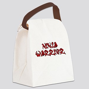 Ninja Warrior Canvas Lunch Bag