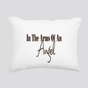 Arms Of An Angel Rectangular Canvas Pillow