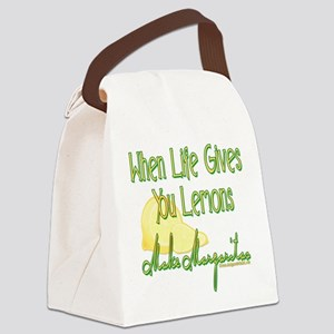 MAKEMARGARITASupdated copy Canvas Lunch Bag