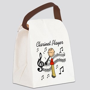 clarinetplayertew Canvas Lunch Bag