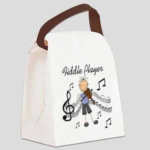 fiddleplayerTEE Canvas Lunch Bag