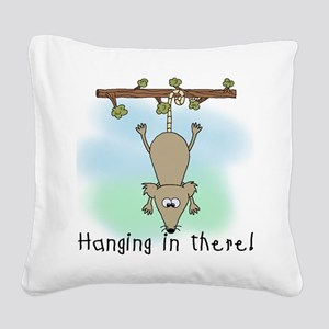 HANGINGINTHERE Square Canvas Pillow