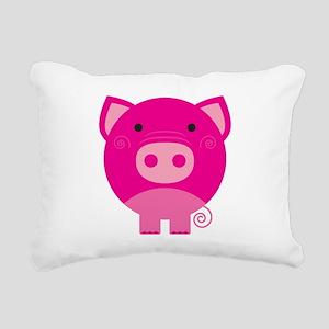 NEPINKPIGG Rectangular Canvas Pillow