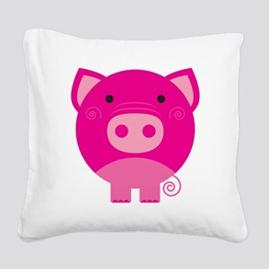 NEPINKPIGG Square Canvas Pillow