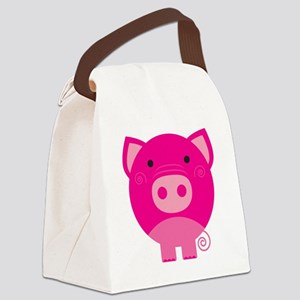 NEPINKPIGG Canvas Lunch Bag