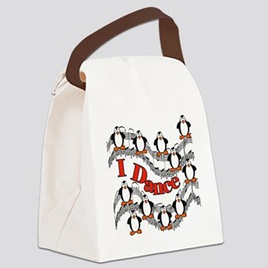 IDANCETEEPENGUINS Canvas Lunch Bag