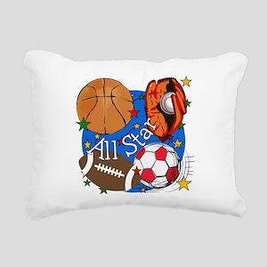 ALLSTARBASIC Rectangular Canvas Pillow
