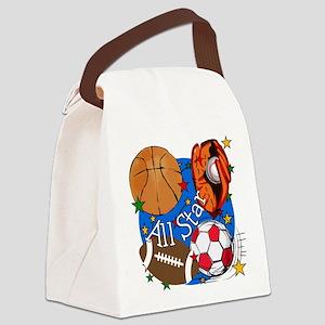 ALLSTARBASIC Canvas Lunch Bag