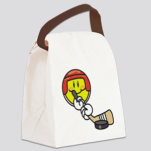 SMILEYHOCKEY Canvas Lunch Bag