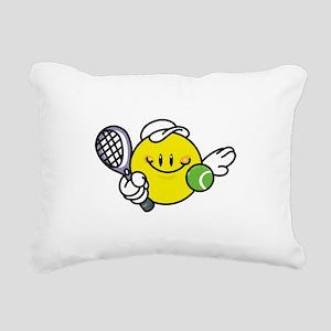 smileyracquetball Rectangular Canvas Pillow