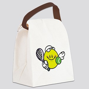 smileyracquetball Canvas Lunch Bag