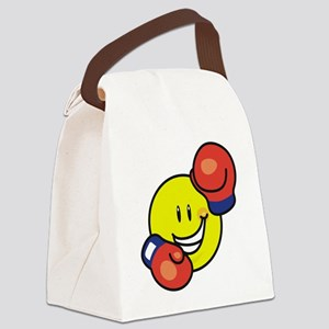 smileyboxing Canvas Lunch Bag