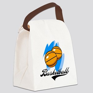 SPORBASKETBALL Canvas Lunch Bag