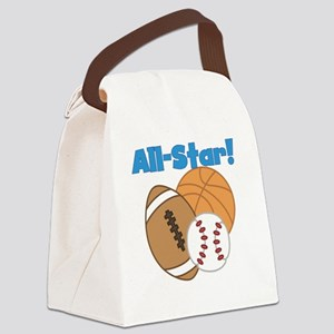 All Star Sports Canvas Lunch Bag
