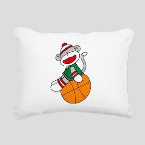 sockmonkeybasketball Rectangular Canvas Pillow
