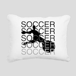 soccerscocer Rectangular Canvas Pillow
