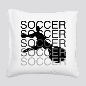 soccerscocer Square Canvas Pillow