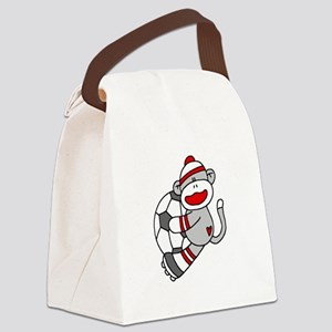 sockmonkeysoccertee Canvas Lunch Bag