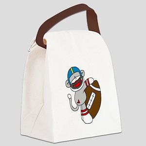 sockmonkeyfootballtee Canvas Lunch Bag