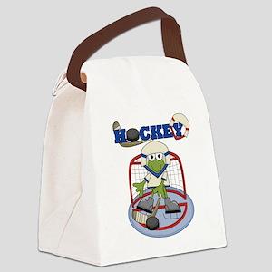 HOCKEYFROGONE Canvas Lunch Bag