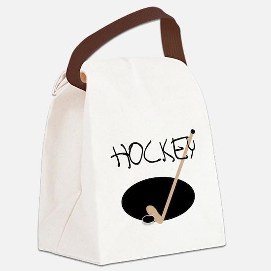 hockeystickimage.png Canvas Lunch Bag