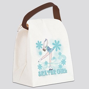 SKATERGIRLTEE Canvas Lunch Bag