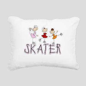 skatergirltee Rectangular Canvas Pillow