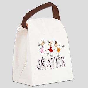 skatergirltee Canvas Lunch Bag