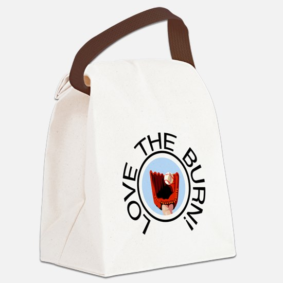 lovetheburn.png Canvas Lunch Bag