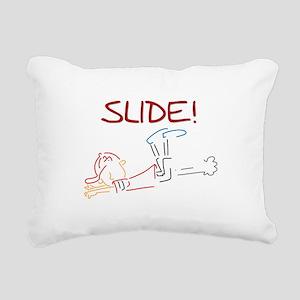 LINESLIDE Rectangular Canvas Pillow