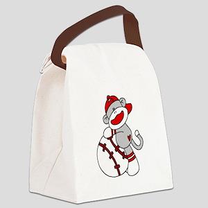 sockmonkeybball Canvas Lunch Bag