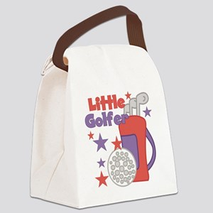 custlittlegolfer Canvas Lunch Bag