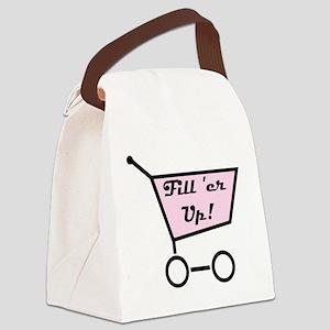 fieruer Canvas Lunch Bag