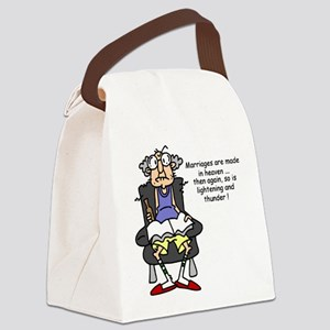 jdfunnymanfive Canvas Lunch Bag