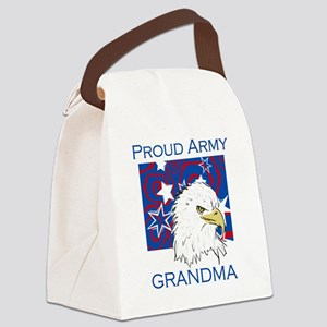 BLUEEAGLEARMYGRANDma Canvas Lunch Bag